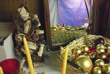 Kerst Decoratie / Ik maak graag leuke kerstdecoratie voor de leuke kerstmarkt die wij hier organiseren.