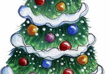 Christmas clipart / by Cheryl Hallett