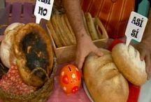 pan casero con manteca