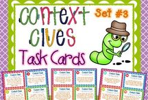 Reading - Context clues / by Cindy Leonard