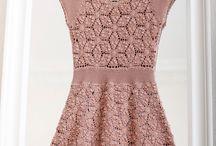 vestido crocher