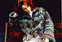 Crochet Coats and Jackets / Crochet outerwear including crochet jackets and crochet coats.