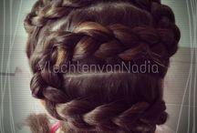 Vlechten van mij / Nice braid for kids and adults.