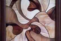 Modern ívelt fali kép - ólomüveg / Modern ívelt fali kép - ólomüveg  http://hu.sooscsilla.com/olomuveg-ajandektargyak/ http://hu.sooscsilla.com/portfolio/modern-ivelt-fali-kep-olomuveg/