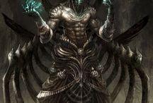 Dark shit/ Characters
