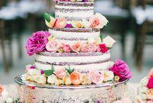 """Naked Cakes / Mehr als nur eine klassische Hochzeitstorte - Der aktuelle Trend und die besten Dekorationsideen für """"Naked Cakes"""""""