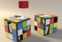 Rubik's Cube Themed Classroom