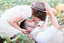 Wedding photo : couple poses / Wedding photo ideas & inspirations / idées photos pour mariage