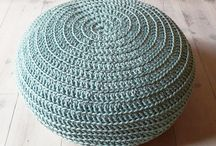 Crocheted Pouffe Inspiration