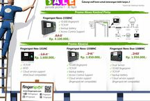Promo Mesin Absensi dan Kunci Pintu Sidik Jari, Wajah, dan Kartu / Dapatkan info promo mesin absensi setiap bulannya dengan harga murah