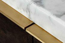 Natural Stone / Beautiful curation of furniture with natural stone.