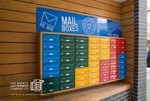 Colourful Mailboxes / A range of colourful mailboxes developed by The Safety Letterbox Company.