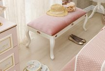 Elegant / #elegant #decoration #dekorasyon #genc #oda  #beyaz #pembe #pembeoda #beyazoda #klasik #white #pinkroom #whiteroom / by Çilek Odası
