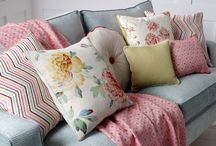 Soft Furnishings / The wonderful world of soft furnishings that can freshen up an interior, give new life to a room, and complete your interior decor theme to match your curtains, blinds, and upholstery