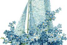 vintage - wzory-kwiaty