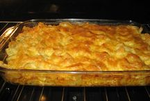 Pasta Dishes / Spaghetti & Macaroni