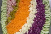 σαλάτες για μπουφέ