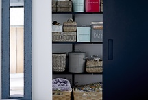 Organization / Cute and clever ideas to get organized. Whilst keeping your fabulosity in tact.
