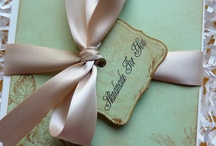 Chic wedding invites