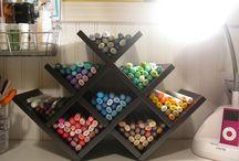Wine rack uses / Create ways to repurpose wine racks