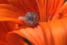 Diamond Halo Engagement Rings / A collection of our most popular, unrefined halo settings in an array of styles.