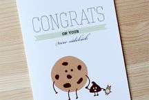 Baby Congrats! / Sweet and cheeky greeting cards for the new baby