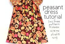 Girl's dresses / by Rosetta Fedelem