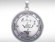 """Archangel Collection / Sigils are magical symbols used for the invocation of spirits. They are usually used in conjunction with prayer, incantations or meditation to invoke the power of the spirit they represent. The Archangel sigils come from the ancient book """"The Key of King Solomon"""" which contains sigils and invocations used to call forth the power of the Archangels."""
