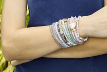 Sterling Silver Minimal Collection / Semi-Precious mix and match stretch bracelets, delicate necklaces and so much more you will want to wear with everything this fall!