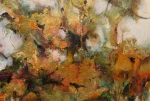 Botanical Abstract Art by Intuitive Artist Joan Fullerton / Botanical Abstract Art by Intuitive Artist Joan Fullerton