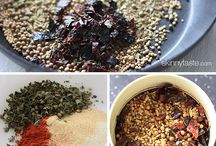Herbs | Spices | Sauces | Dressing / Herb mixtures, spice mixes, sauces, marinades, dressing / by Michaela Zalko