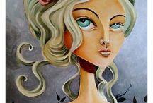 Sian Elliot / Paintings, portraits & women / by Elliot Mars