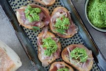 Food photo - tartines