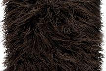Poduszka dekoracyjna LUMA brązowy/Faux fur pillow LUMA brown / Poduszka dekoracyjna LUMA brązowy/Faux fur pillow LUMA brown