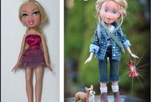 Altered dolls and clothing