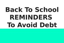 Back To School Tips To Avoid Debt