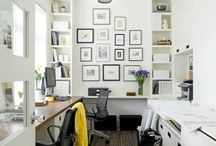 Small office space / Interior for small spaces