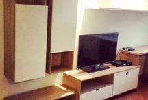 Bibliotecas y centros de entretenimiento / Muebles para el hogar con mucho diseño