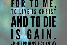 Inspiring Bible Verses / Encouraging Bible verses with inspiring images.