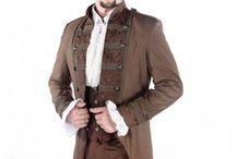 Mens Steampunk Clothing