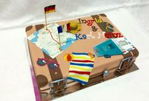Travel cases Cake/ Reisekoffer Torten