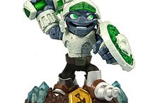 Skylanders Swappable Combinations / This board features all the possible SWAP Force combinations