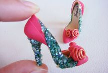 Minature shoes