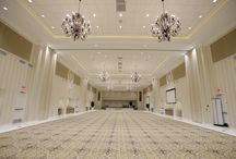 CCLV Ballroom / CCLV's 10,000-square-foot ballroom can comfortably accommodate festivities encompassing up to 720 guests for a reception or 500 for a seated dinner.