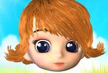 CutesyCuts 3D Virtual Hair Salon