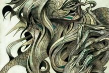Stellar Illustrations by Edward Kwong