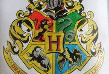 Colouring Harry Potter