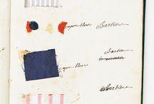 Образцы тканей гардероба Марии Антуанетт