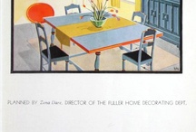 Paint and Interior Decoration: a Catalog History / A collection of vintage architectural trade catalogs about paint and interior decoration.  / by Mike Jackson, FAIA