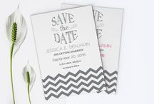 Save The Dates / Easy editable & printable save the date templates. Use our save the date templates to make your own DIY invitation at home.